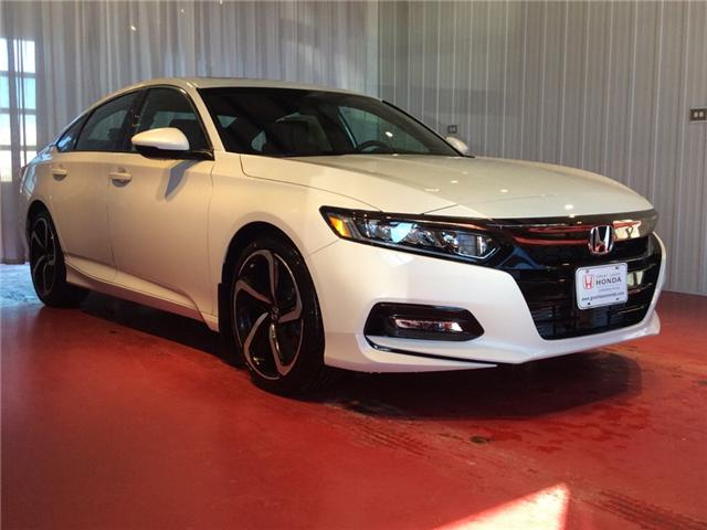 2018 Honda Accord Sport (Stk: H5760) in Sault Ste. Marie - Image 1 of 5