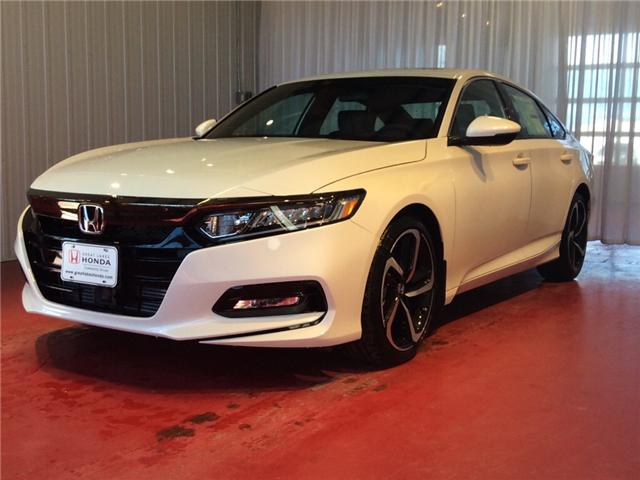 2018 Honda Accord Sport (Stk: H5760) in Sault Ste. Marie - Image 2 of 5