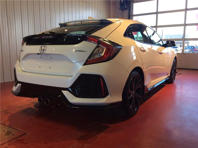 2018 Honda Civic Sport (Stk: H5795) in Sault Ste. Marie - Image 4 of 5