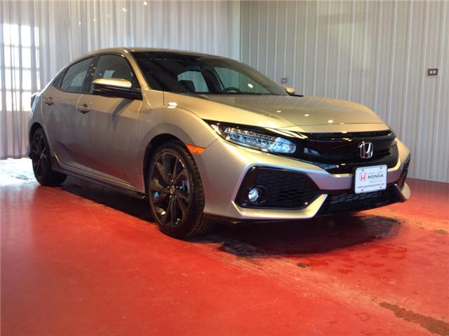 2018 Honda Civic Sport Touring (Stk: H5815) in Sault Ste. Marie - Image 1 of 5