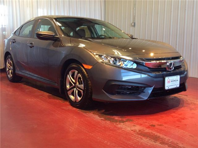2018 Honda Civic LX (Stk: H5655) in Sault Ste. Marie - Image 1 of 5