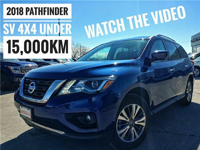 2018 Nissan Pathfinder SV Tech (Stk: JC606306) in Cobourg - Image 1 of 37