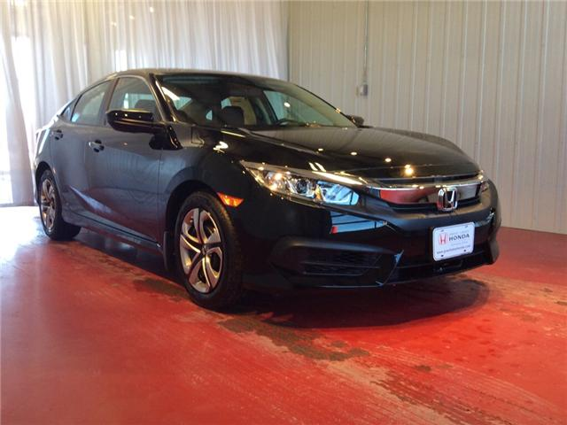 2018 Honda Civic LX (Stk: H5672) in Sault Ste. Marie - Image 1 of 5
