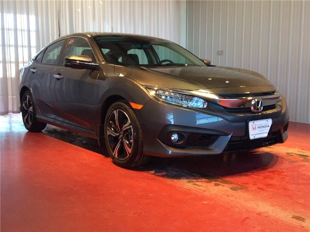2018 Honda Civic Touring (Stk: H5662) in Sault Ste. Marie - Image 1 of 5