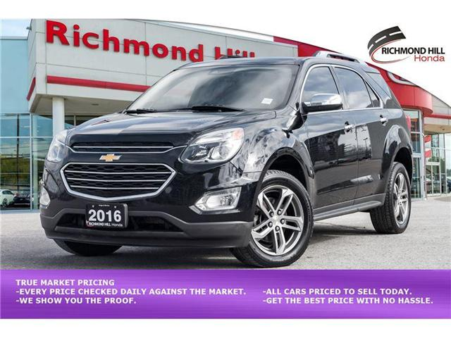2016 Chevrolet Equinox LTZ (Stk: 1912P) in Richmond Hill - Image 1 of 20