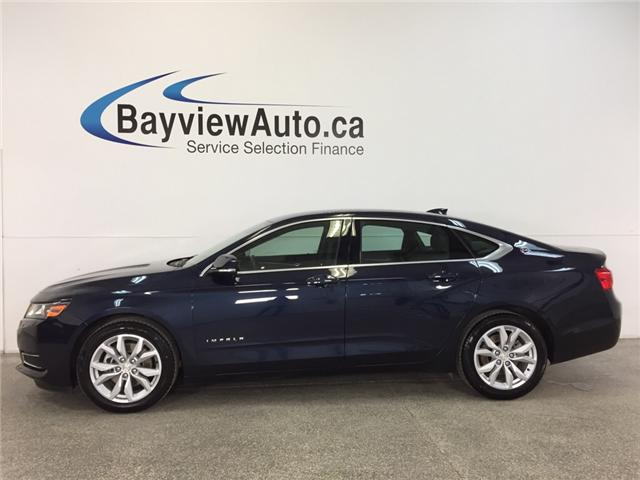 2017 Chevrolet Impala LT- REM STRT|ALLOYS|DUAL CLIAMTE|MY LINK|REV CAM! (Stk: 32181J) in Belleville - Image 1 of 28