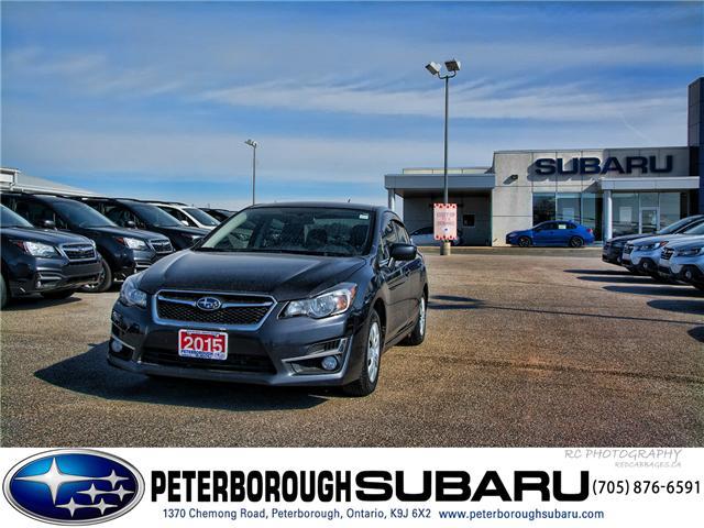 2015 Subaru Impreza 2.0i (Stk: S3296A) in Peterborough - Image 1 of 30
