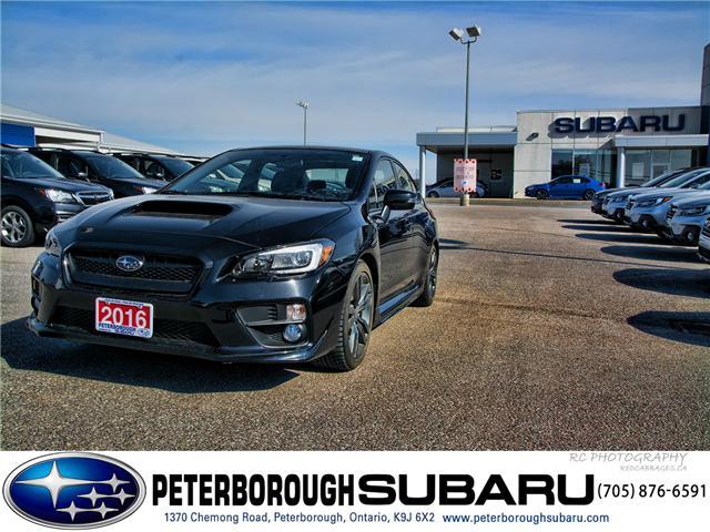 2016 Subaru WRX Sport-tech Package (Stk: SP0109) in Peterborough - Image 1 of 30