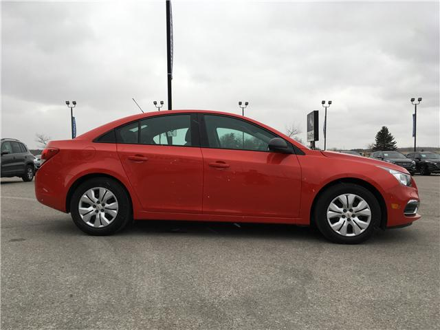 2016 Chevrolet Cruze Limited 2LS (Stk: 16-54306) in Barrie - Image 4 of 23