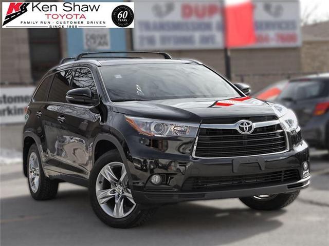 2015 Toyota Highlander Limited (Stk: 15080A) in Toronto - Image 2 of 20