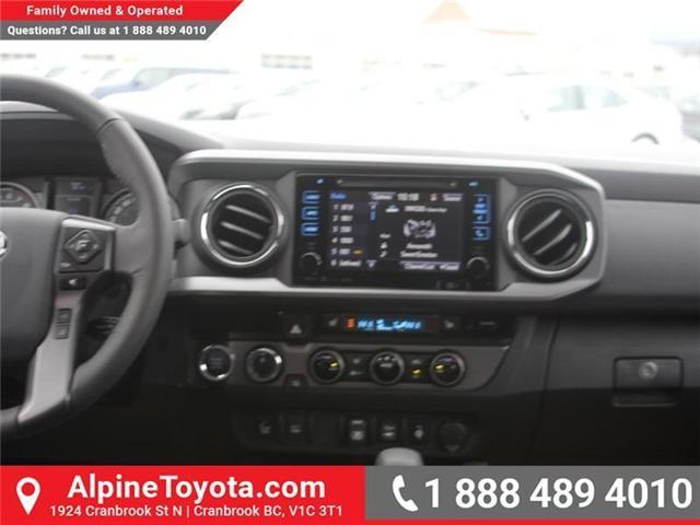 2018 Toyota Tacoma SR5 (Stk: X032171) in Cranbrook - Image 10 of 20