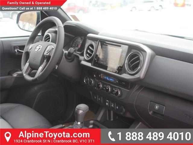 2018 Toyota Tacoma SR5 (Stk: X032171) in Cranbrook - Image 11 of 20