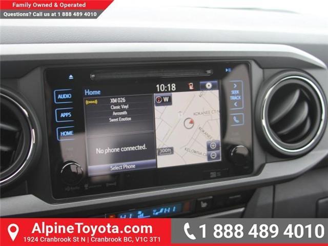 2018 Toyota Tacoma SR5 (Stk: X032171) in Cranbrook - Image 13 of 20