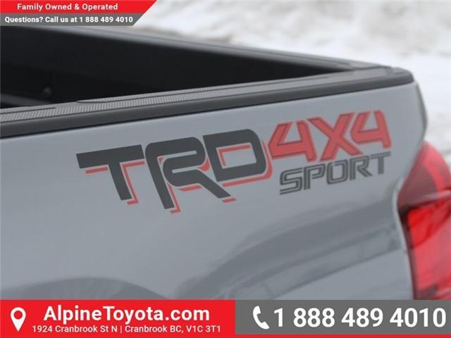 2018 Toyota Tacoma SR5 (Stk: X032171) in Cranbrook - Image 19 of 20