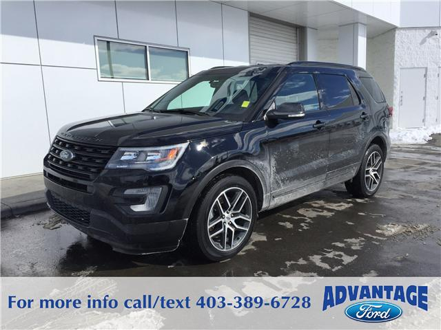 2016 Ford Explorer Sport (Stk: J-052A) in Calgary - Image 1 of 9