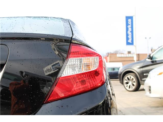 2012 Honda Civic LX (Stk: ) in Mississauga - Image 6 of 26