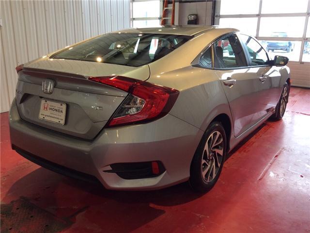 2018 Honda Civic SE (Stk: H5791) in Sault Ste. Marie - Image 4 of 5
