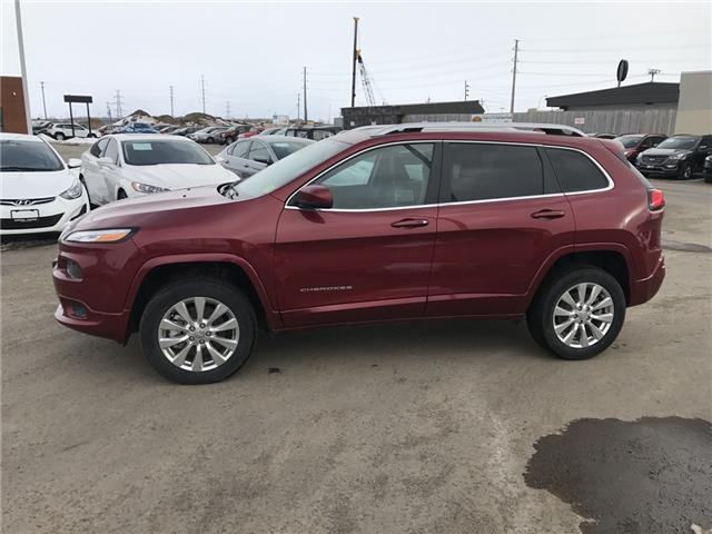 2017 Jeep Cherokee Overland (Stk: 1712761) in Thunder Bay - Image 2 of 13