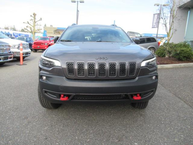 2019 Jeep Cherokee Trailhawk (Stk: K114936) in Surrey - Image 2 of 13