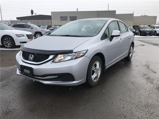 2013 Honda Civic LX (Stk: I99091) in Thunder Bay - Image 1 of 14