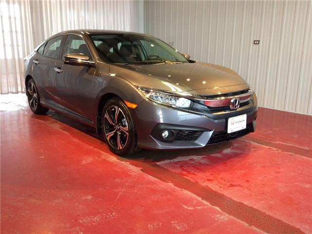 2018 Honda Civic Touring (Stk: H5734) in Sault Ste. Marie - Image 1 of 5