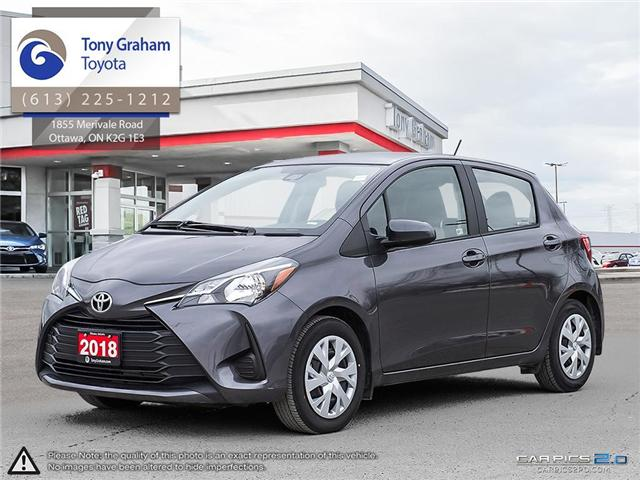 2018 Toyota Yaris LE (Stk: U8907) in Ottawa - Image 1 of 28