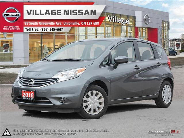 2016 Nissan Versa Note 1.6 SV (Stk: ) in Unionville - Image 1 of 25