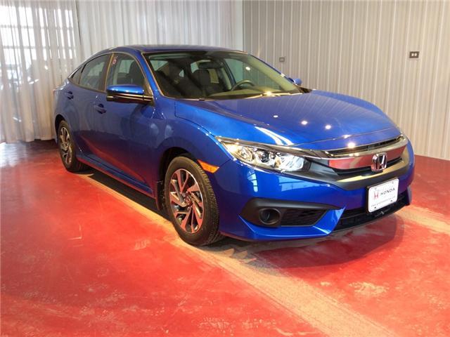 2018 Honda Civic EX (Stk: H5697) in Sault Ste. Marie - Image 1 of 5