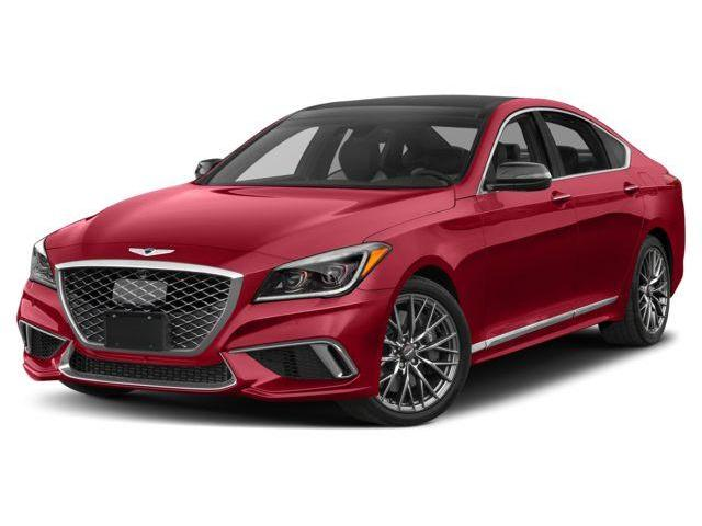 2018 Genesis G80 3.3T Sport (Stk: G18007) in Ajax - Image 1 of 1