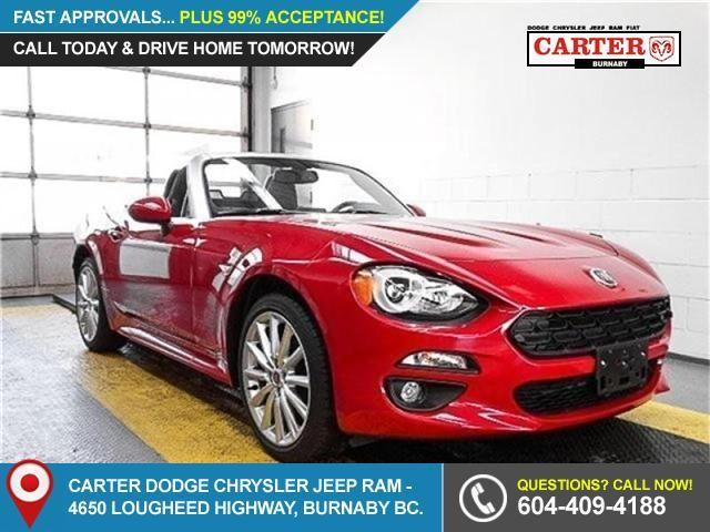 2017 Fiat 124 Spider Lusso (Stk: 5051280) in Burnaby - Image 1 of 16