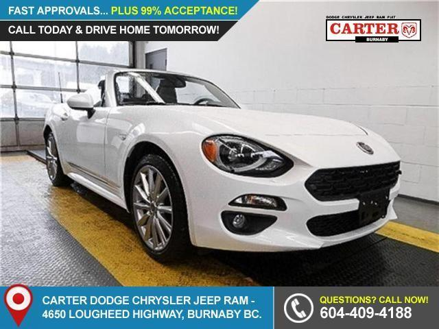2017 Fiat 124 Spider Lusso (Stk: 5072510) in Burnaby - Image 1 of 17