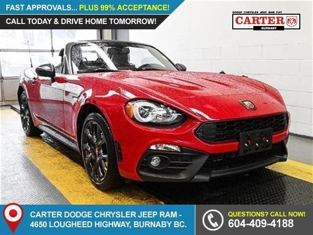 2017 Fiat 124 Spider Abarth (Stk: 5086650) in Burnaby - Image 1 of 15
