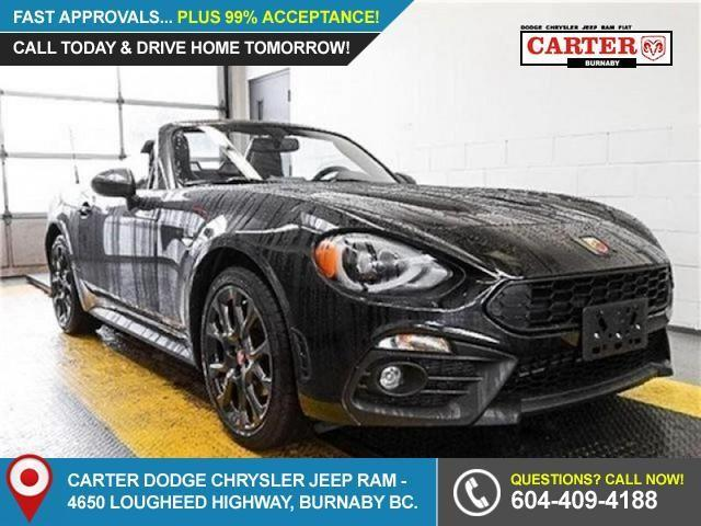 2017 Fiat 124 Spider Abarth (Stk: 5087030) in Burnaby - Image 1 of 20