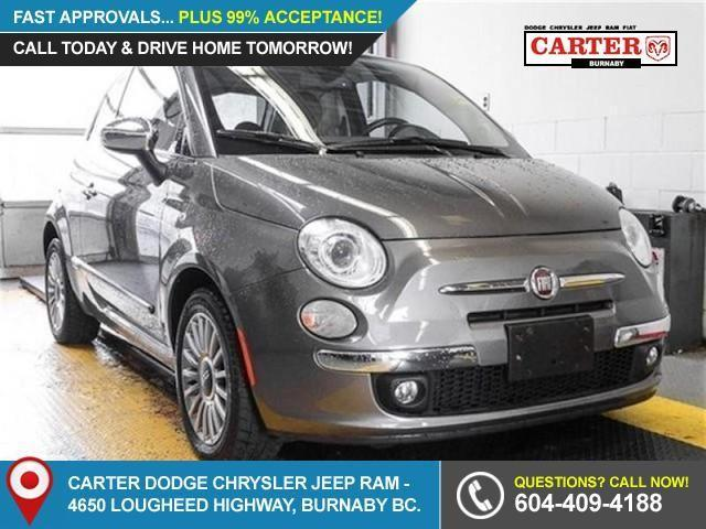 2012 Fiat 500 Lounge (Stk: 9-5745-0) in Burnaby - Image 1 of 24