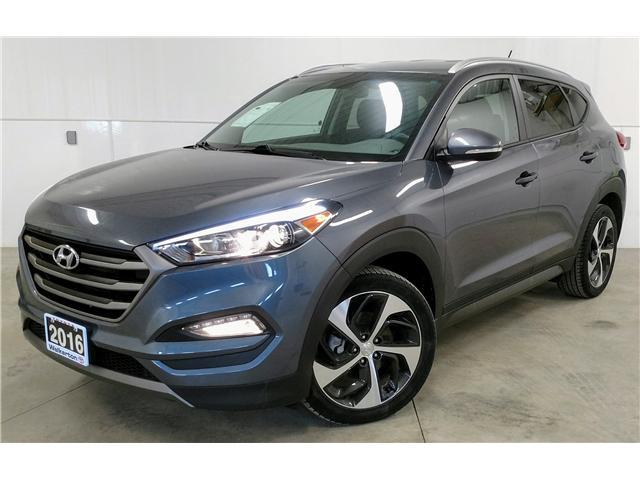 2016 Hyundai Tucson Premium 1.6 (Stk: L8004) in Walkterton - Image 1 of 30