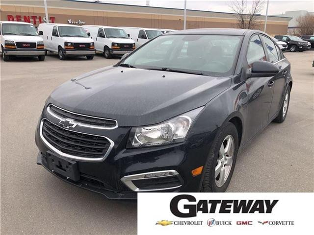 2016 Chevrolet Cruze 2LT, HTD LEATHER, ROOF, PIONEER, BLUETOOTH (Stk: 235450B) in BRAMPTON - Image 1 of 17