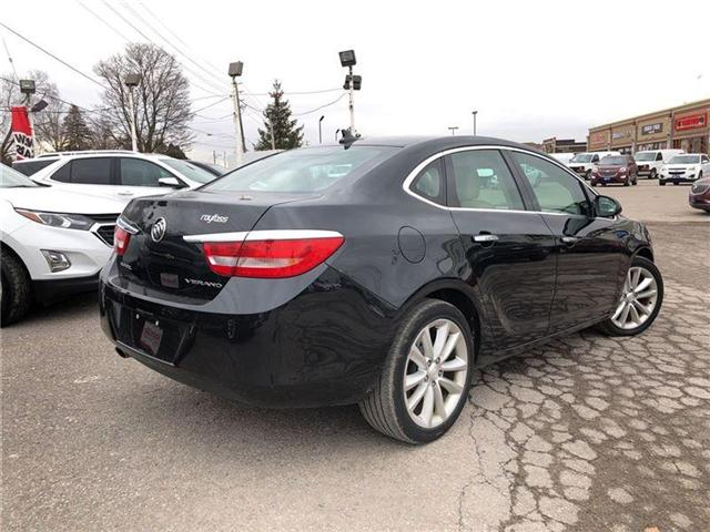 2014 Buick Verano ONE-OWNER TRADE- NAVI- GM CERTIFIED PRE-OWNED (Stk: P6167) in Markham - Image 5 of 22
