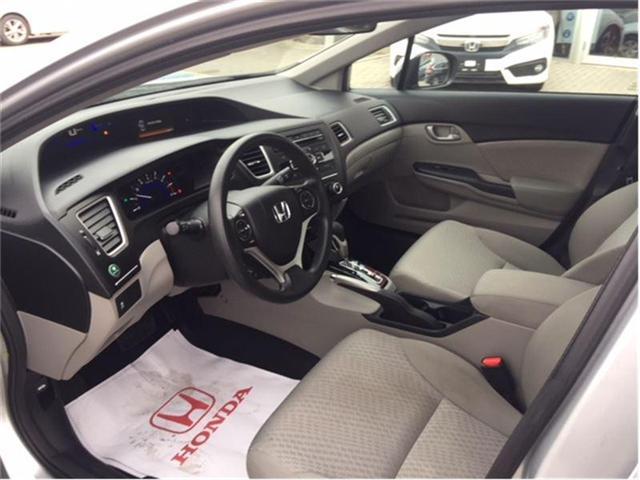 2014 Honda Civic LX (Stk: P6837) in Georgetown - Image 5 of 6