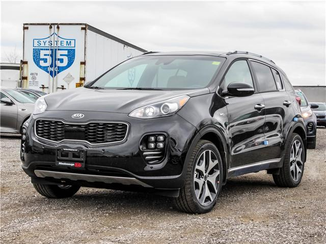 2018 Kia Sportage SX Turbo (Stk: SP18045) in Mississauga - Image 1 of 22