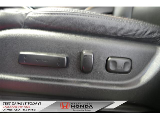 2015 Honda CR-V EX-L (Stk: H5769A) in Sault Ste. Marie - Image 17 of 23