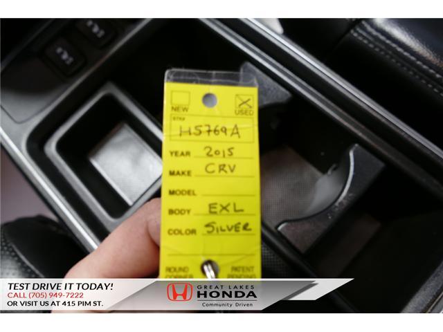 2015 Honda CR-V EX-L (Stk: H5769A) in Sault Ste. Marie - Image 23 of 23