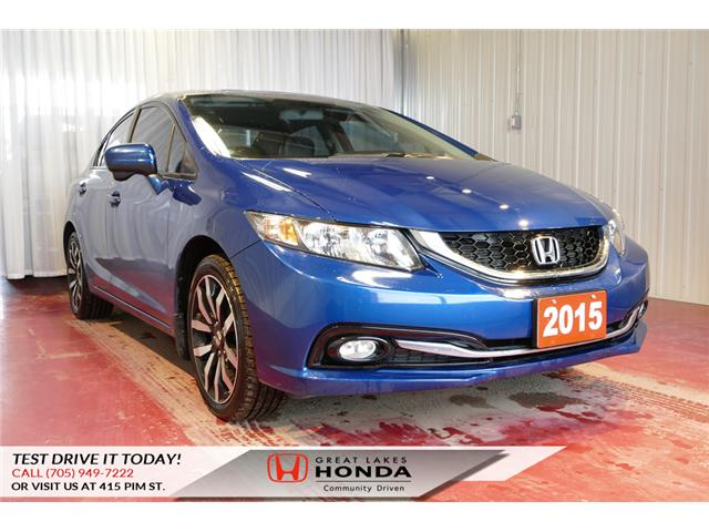 2015 Honda Civic Touring (Stk: HP460) in Sault Ste. Marie - Image 1 of 20