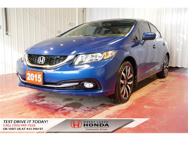 2015 Honda Civic Touring (Stk: HP460) in Sault Ste. Marie - Image 3 of 20