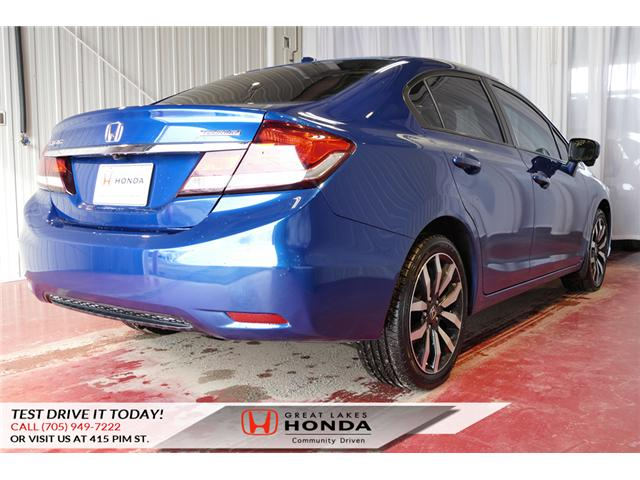 2015 Honda Civic Touring (Stk: HP460) in Sault Ste. Marie - Image 6 of 20