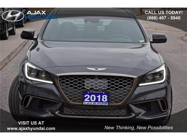 2018 Genesis G80 3.3T Sport (Stk: P4400) in Ajax - Image 2 of 21
