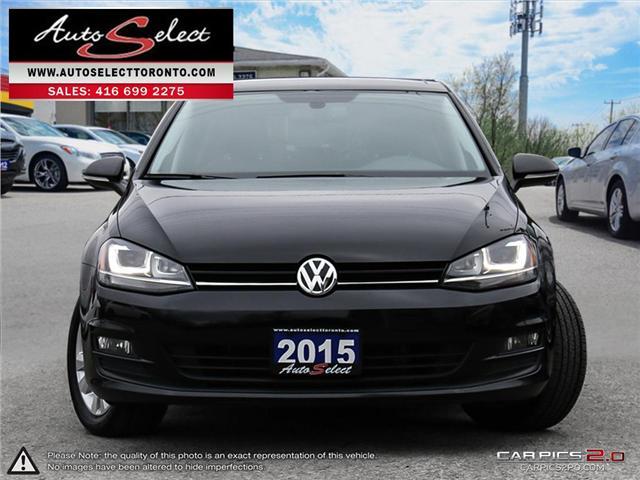 2015 Volkswagen Golf  (Stk: V1GLF73) in Scarborough - Image 2 of 28