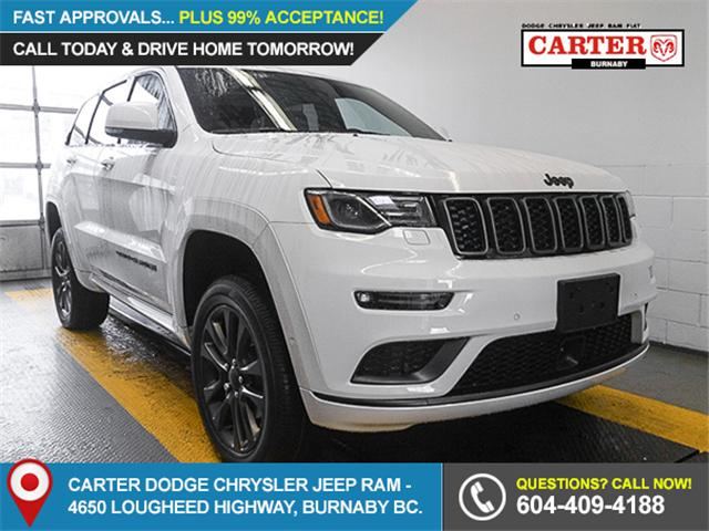 2018 Jeep Grand Cherokee Overland (Stk: G720570) in Burnaby - Image 1 of 6