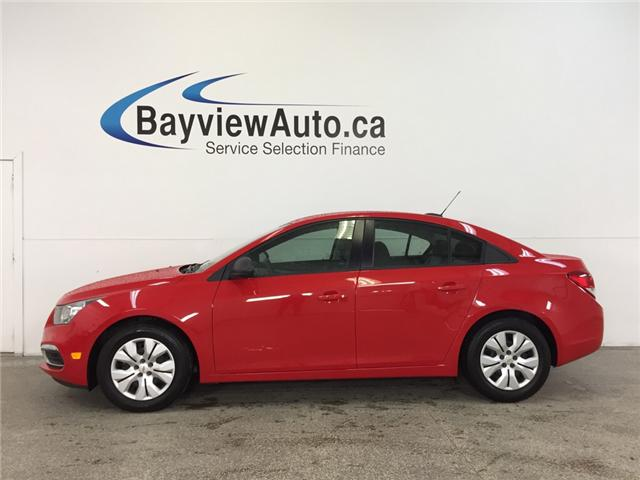 2016 Chevrolet Cruze - AUTO 1.8L A/C ON STAR LOW KM! (Stk: 32253) in Belleville - Image 1 of 25
