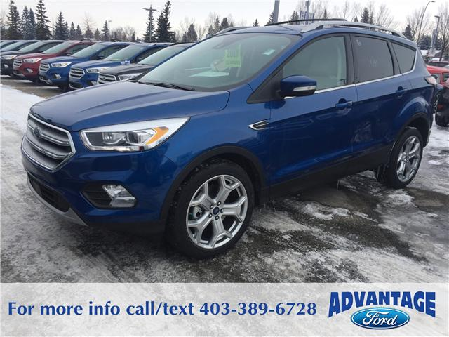 2017 Ford Escape Titanium (Stk: H-1710) in Calgary - Image 1 of 5