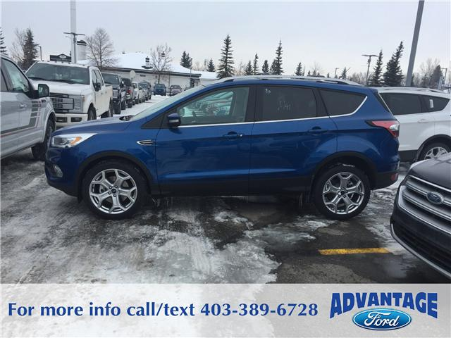 2017 Ford Escape Titanium (Stk: H-1710) in Calgary - Image 2 of 5